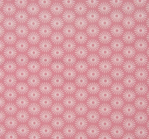 B27_Jersey_Stoff_Stoffe_Blumen_Blümchen_Kreise_rosa_pink
