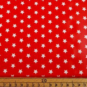 Beschichtete_Baumwolle_Wachstuch_Sterne_Stars_orange