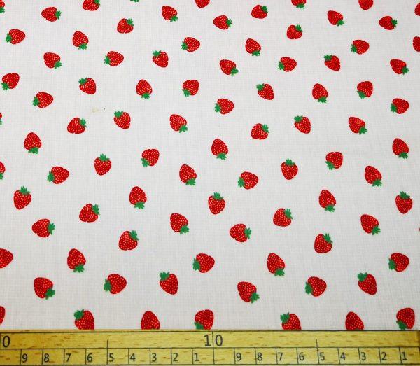 Beschichtete_Baumwolle_Wachstuch_Erdbeeren_rosa