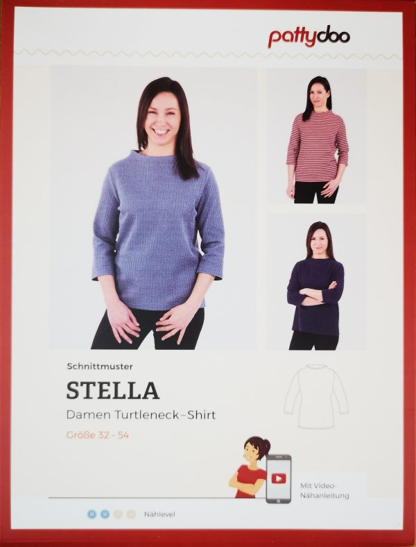 Schnittmuster_Pattydoo_Stella_Damen_Turtleneck_Shirt