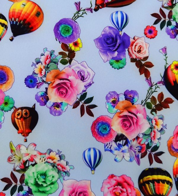 A42_Softshell_Stoff_Stoffe_Stoffpiraten_Ballons_Eulen_Blumen_Rosen_flieder