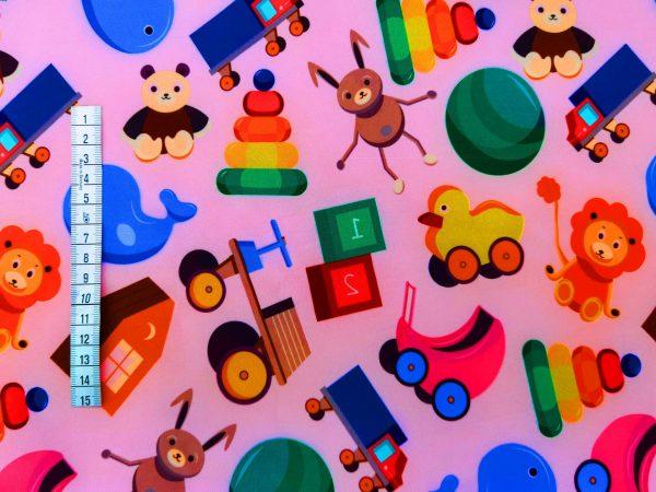 A57_Softshell_Stoff_Stoffe_Stoffpiraten_Kinderzimmer_Spielzeug_rosa