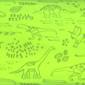 A88_Softshell_Stoff_Stoffe_Stoffpiraten_reflektierend_Neon_Dinos_Dinosaurier_pink