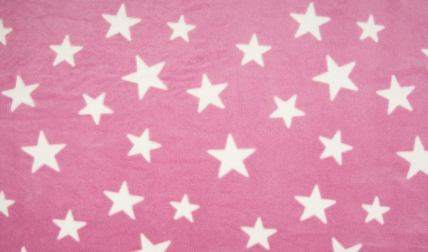 K32_Stoffpiraten_Stoff_Stoffe_Fleece_microfleece_Sterne_rosa_altrosa_pink